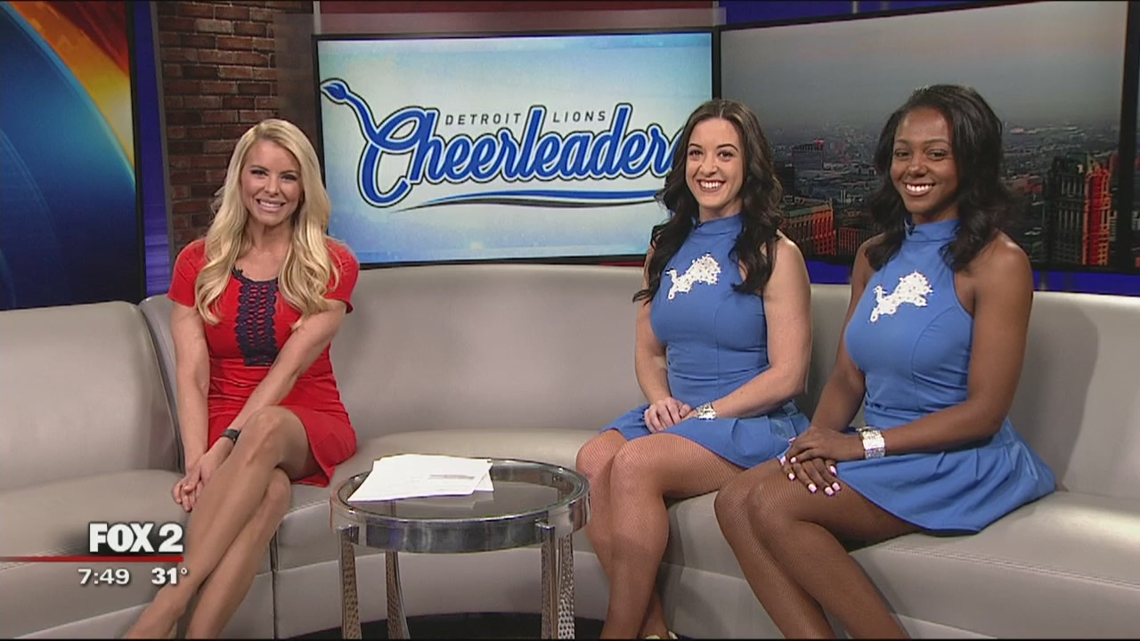 Detroit Lions Cheerleader Auditions March 24 Fox 2 Detroit