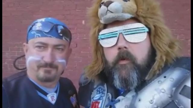Well known Lions superfans kicked out of game