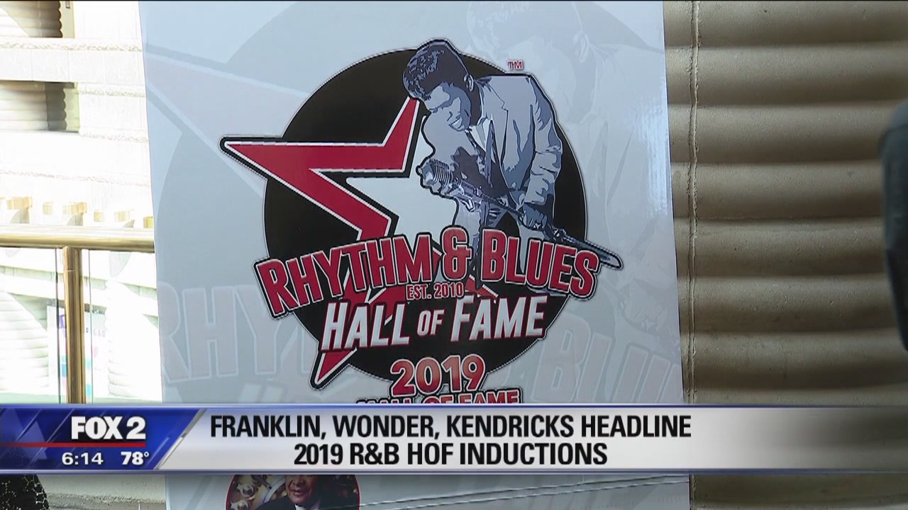 8th Annual R&B Hall of Fame inductions, Franklin, Wonder and Kendricks headline