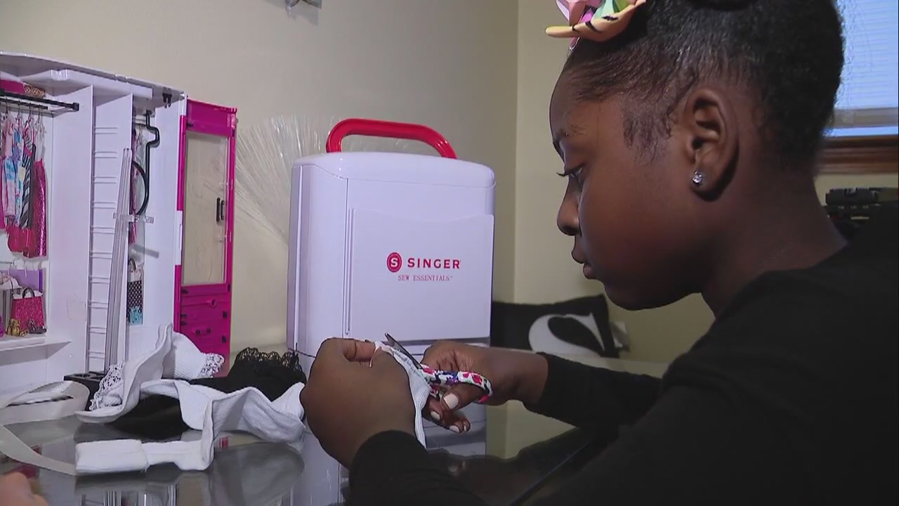9 Year Old Fashion Designer With Custom Barbie Clothes Catches The Eye Of The Toy Maker
