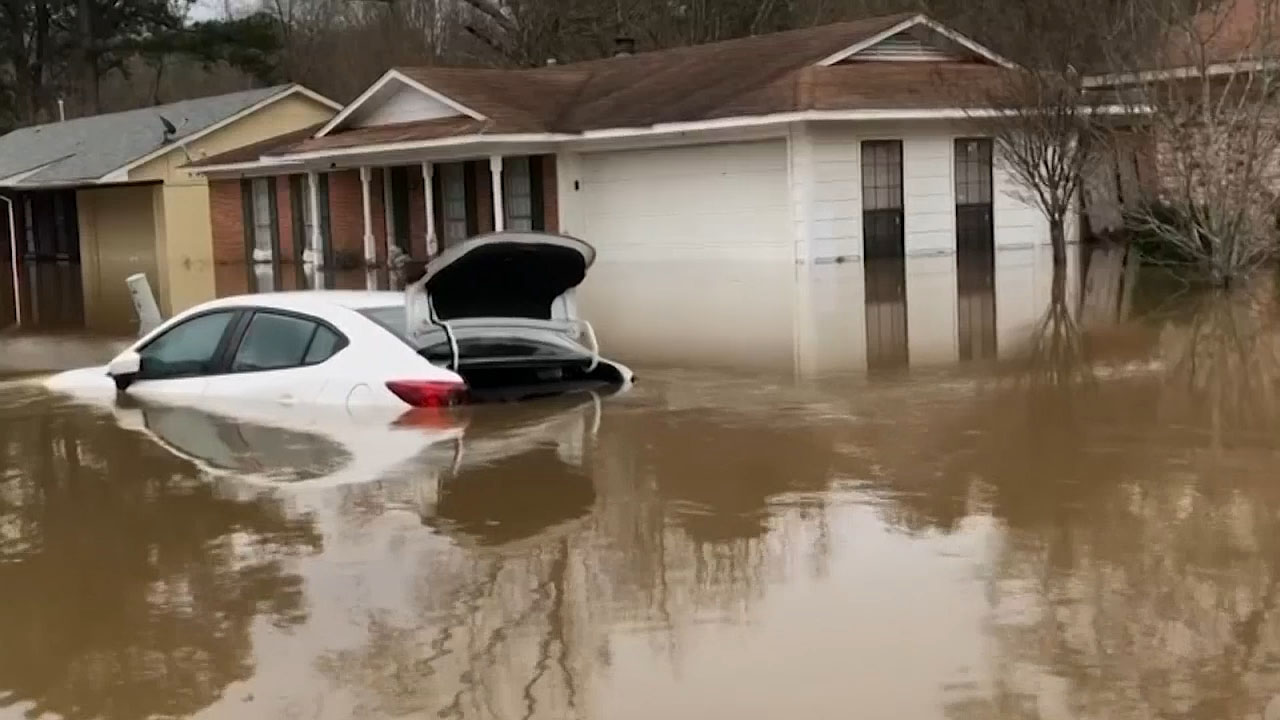 Historic flooding hits Mississippi, Tennessee with more drenching ...
