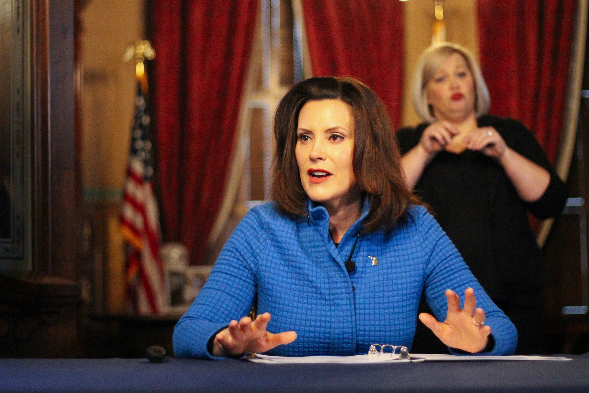 Michigan Gov Gretchen Whitmer Submits Disaster Declaration Request To Pres Trump