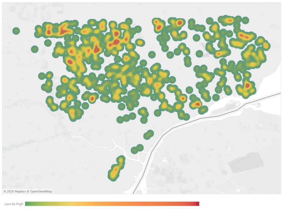 Detroit Health Department Heatmap Shows Coronavirus Hotspots In City